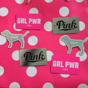 PINK VS KEY CHAIN COLLECTABLE CARDS